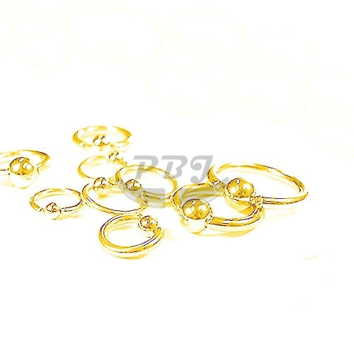14G BCR-Gold Steel