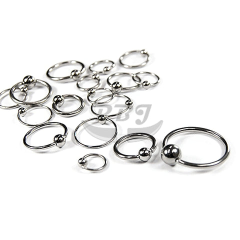 18G BCR, 4pcs/pack Price-316L S. Steel