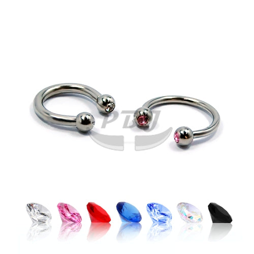 CBB-19 Gem 14G, 4pcs/pack Price-316L S. Steel