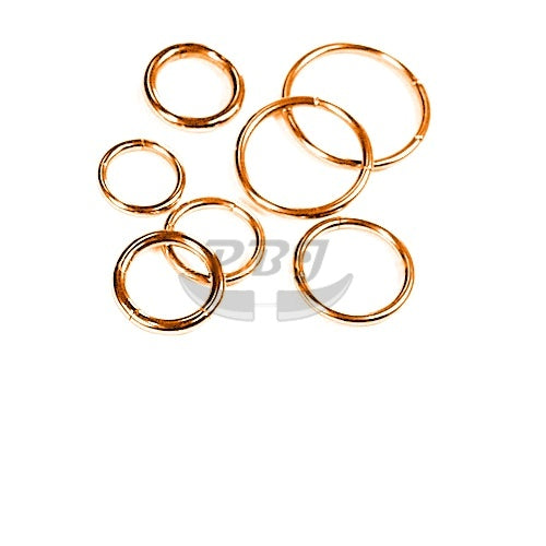 16G Rose Gold Hinged Segment-Gold Steel