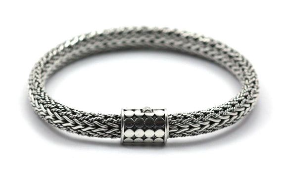 SOHO Textured Chain Bracelet 7.5