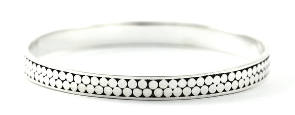 B319 KALA Two Row Bangle Bracelet