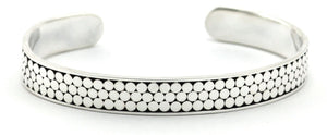 B320 KALA Three Row Cuff Bracelet