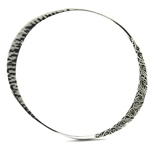 B926 DEWI Multi Media Mobius Strip Bangle Bracelet