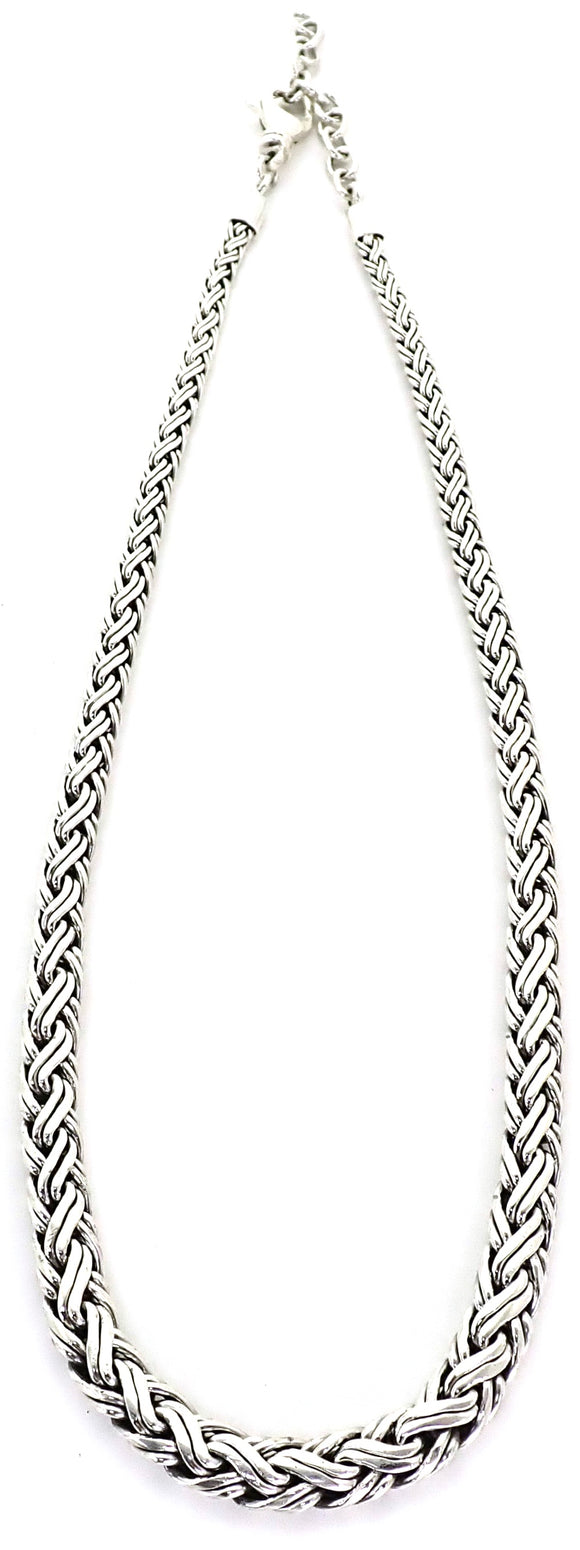 N818 SOHO Graduated Woven Strand Necklace