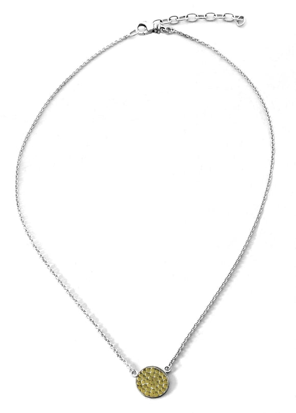 N840G KALA .925 Sterling Silver Single Station Necklace 16-18