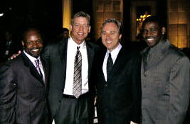 Emmit Smith, Troy Aikman, Rich Dalrymple, Michael Irvin- Lombardo Custom Apparel