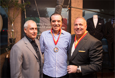 Chazz Palminteri - Lombardo Custom Apparel