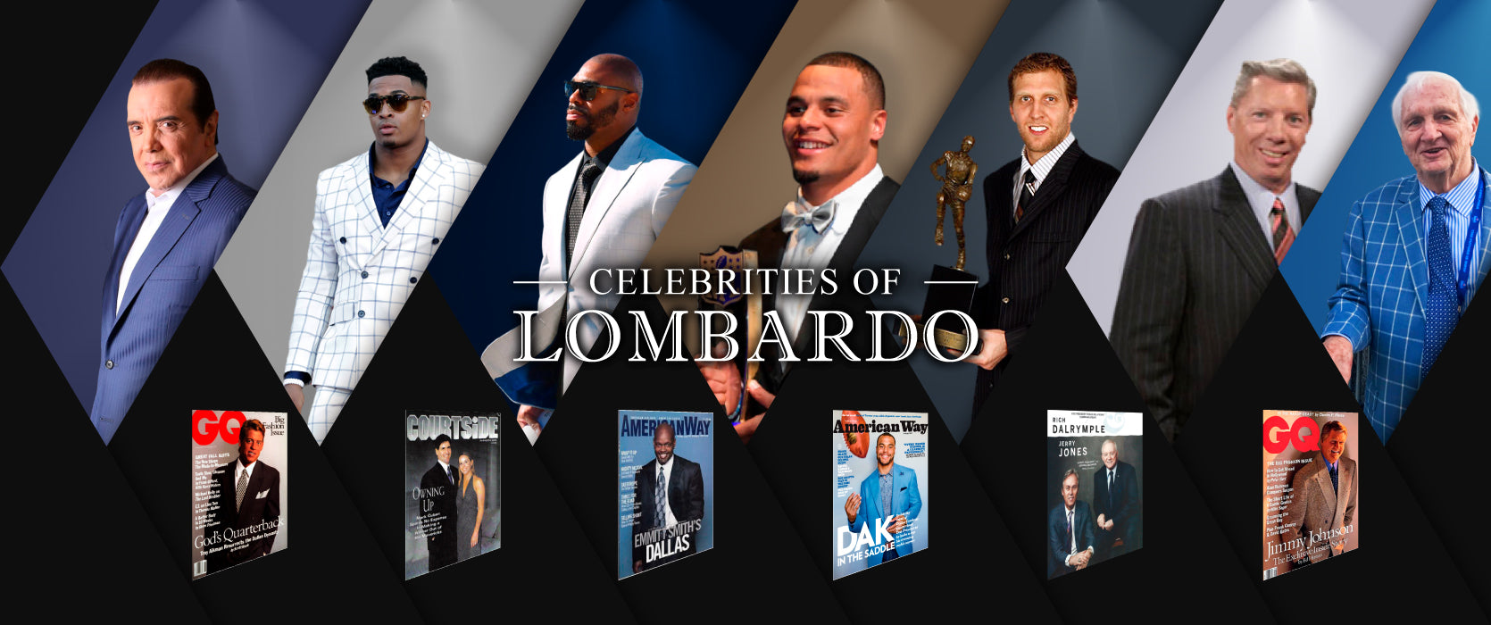 Celebrities - Lombardo Custom Apparel