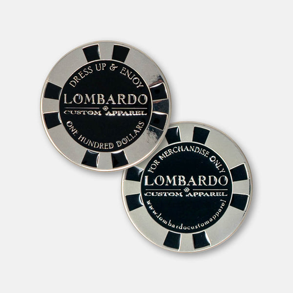 Lombardo Gift Chip - $100