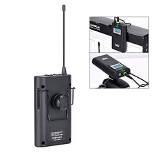 Load image into Gallery viewer, COMICA CVM-WM100 Professional UHF 48 Channels and 100m Working Distance Omni- Directional Wireless Lavalier Microphone - Vitopal