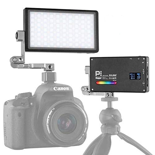 Boling BL-P1 12W RGB Build-in Battery Led On Camera Light Pocket Size