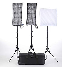 Load image into Gallery viewer, Linkstar RX-9TD,RX-11TD 3Kit Flexible Video Light with Honeycomb Grid Softbox and Stand - Vitopal