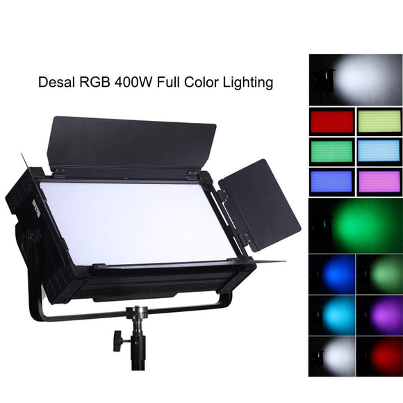 Falconeyes DESAL D-S812 400w RGBW Soft Panel LED Video Lighting