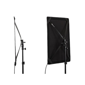 FalconEyes 2Kit RX-18TD lexible Studio Light with Light Stand - Vitopal