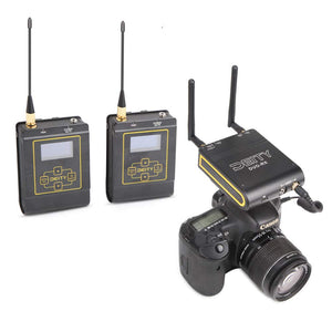 Deity Connect Wireless Lavalier Microphone 2.4G Dual-Channel Receiver & Two Transmitters - Vitopal