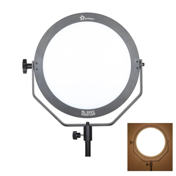 Linkstar RL-24VC Ring Video Ultratin Bi Color Soft Led Photo Light