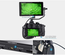 Load image into Gallery viewer, Feelworld LUT6S 6 Inch DSLR Camera Field Monitor HDR/3D LUT Touch Screen,3G-SDI 4K HDMI,2600nits 1920X1080 with Waveform VectorScope Histogram