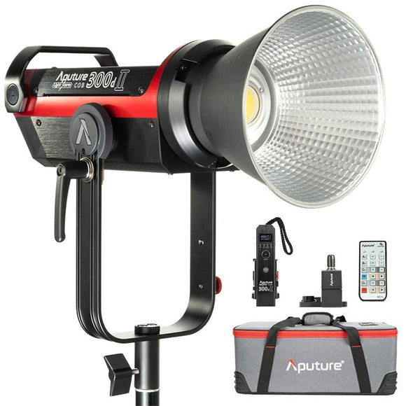 Aputure LS C300D II Led Video Light Bowens Mount 350W 2.4G Remote Control Low Noise V-Mount Plate