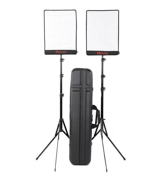 FalconEyes 2Kit RX-12TD 50W Waterproof Flexible LED Video Light