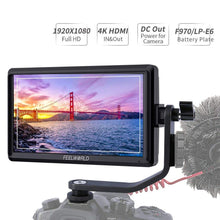 Load image into Gallery viewer, FEELWORLD FW568 5.5' 1920x1080 4K DSLR Camera Field Monitor - Vitopal