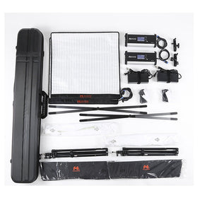 Falcon Eyes 2Kit RX-24TDX Roll-Flex LED Light with Light Stand - Vitopal