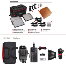 Load image into Gallery viewer, Aputure LS120d II+HR672wws Led Video Light Continuous Lighting Kit - Vitopal
