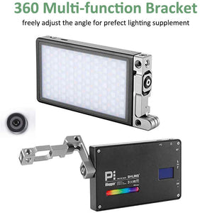 BOLING BL-P1 Mini RGB LED Light On Camera Full Color