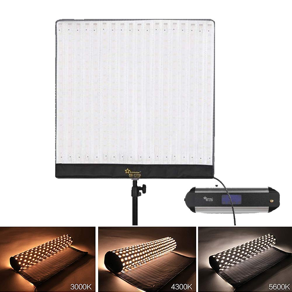 Linkstar RX-11TD Roll-Flex Video Light 68W Studio Lighting - Vitopal