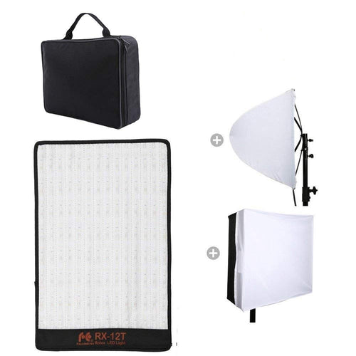 Falcon Eyes RX-12T  Roll-Flex LED Light with Softbox - Vitopal