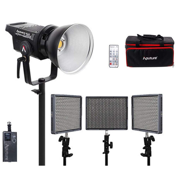 Aputure LS120d II+HR672wws Led Video Light Continuous Lighting Kit