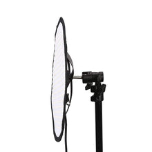 Load image into Gallery viewer, Menik CB-66A 66W Flexible Round Film LED Photographic Light 2750-6500K Bi-Color Studio Light with Honeycomb Grid Softbox CRI ≥95% Using Mobile APP Dimming (CB-66A with Honeycomb) - Vitopal