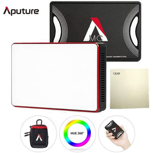 Aputure Amaran MC RGBWW Mini Video Light On Camera 3200K-6500K