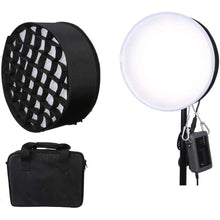 Load image into Gallery viewer, Menik CB-66A Round Film Bi-Color Light with Honeycomb Grid Softbox