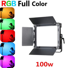 Load image into Gallery viewer, Falconeyes D-S711 RGB LED Video Light 100W Color Temperature 3000K-5600K - Vitopal