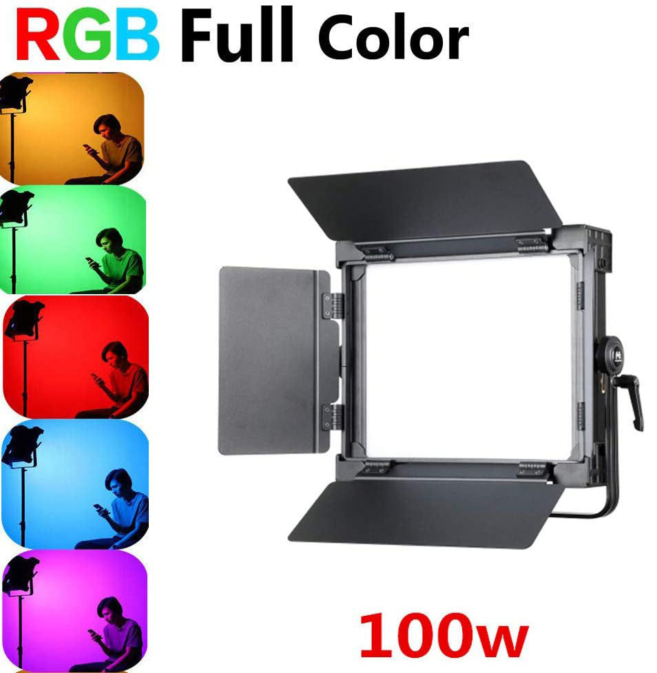 Falconeyes D-S711 RGB LED Video Light 100W Color Temperature 3000K-5600K - Vitopal