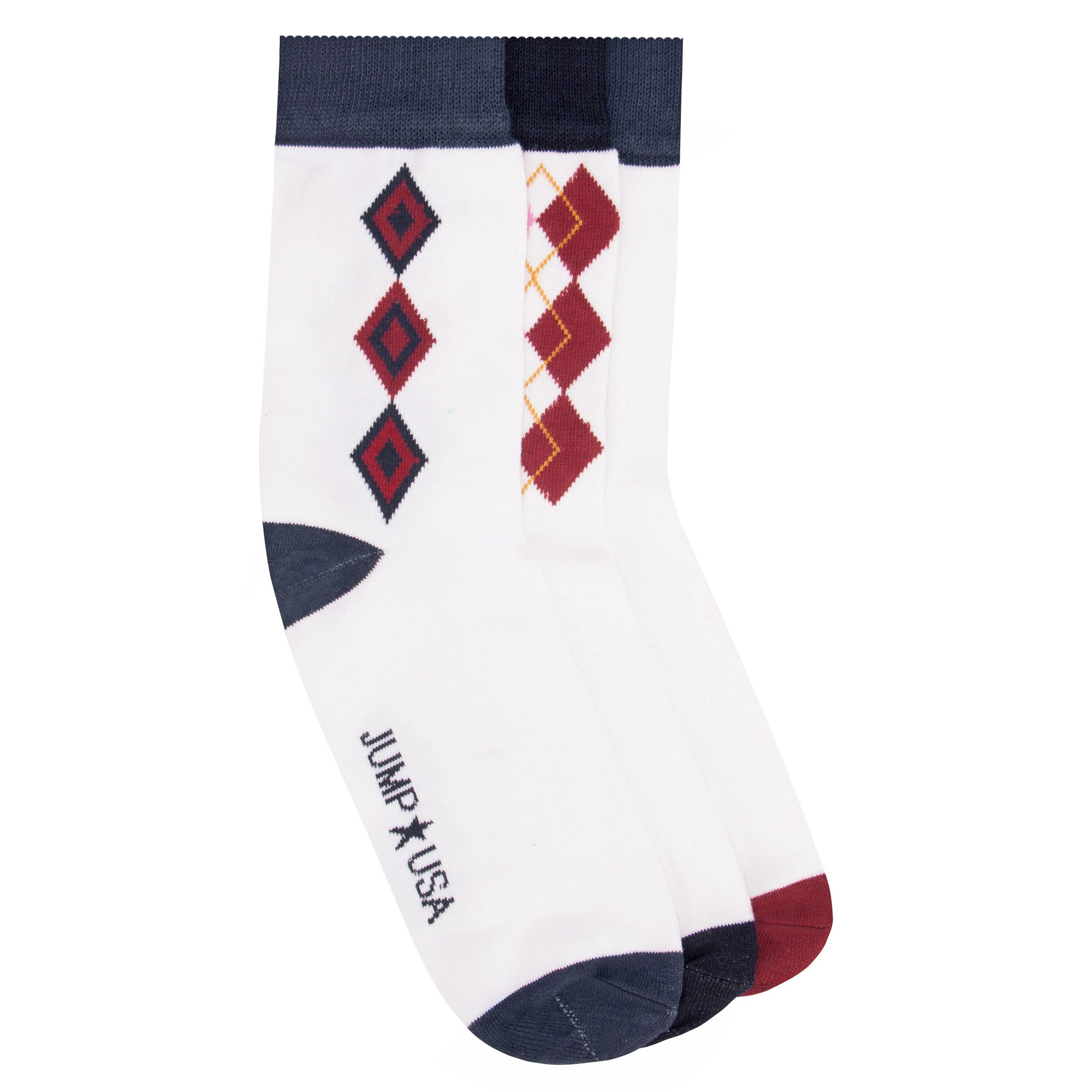 Cotton 3 Pack Socks Mens - JUMP USA - Breeches.com