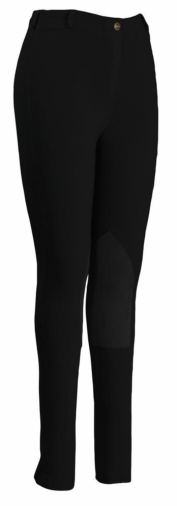 TuffRider Ladies Pull-On Knee Patch Breeches_1