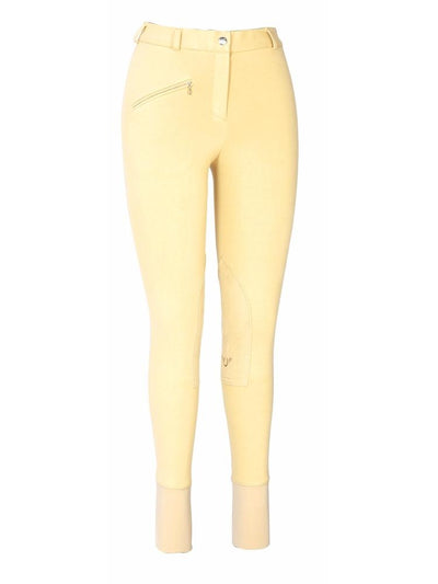 TuffRider Ladies Cotton Knee Patch Breeches_3