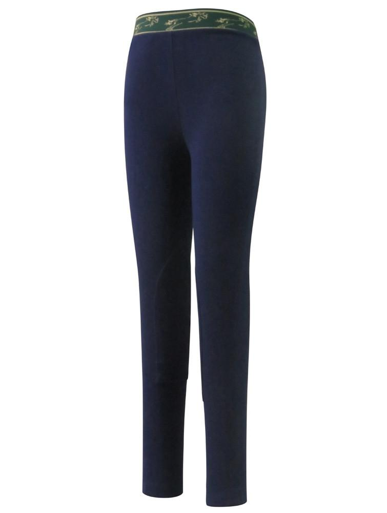 Children's Cotton Schoolers Riding Tights - TuffRider - Breeches.com