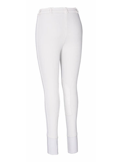 TuffRider Ladies Ribb Knee Patch Breeches (Long)_2