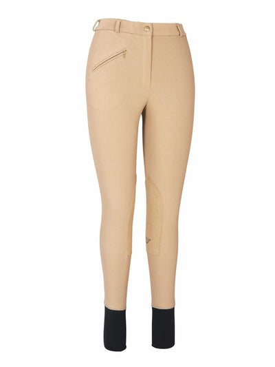 TuffRider Ladies Ribb Knee Patch Breeches (Long)_3
