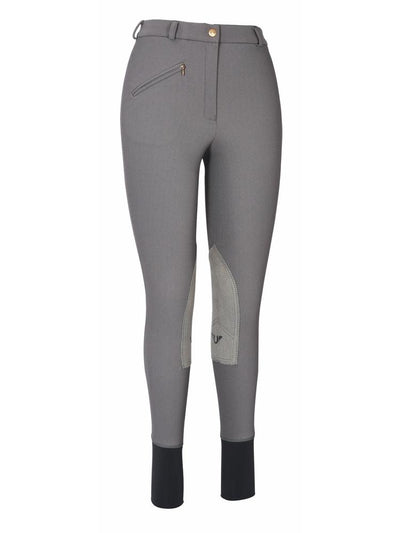 TuffRider Ladies Ribb Knee Patch Breeches (Long)_5