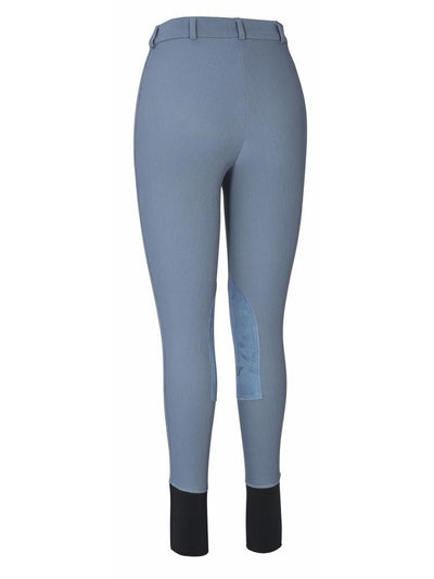 TuffRider Ladies Ribb Knee Patch Breeches (Long)_8