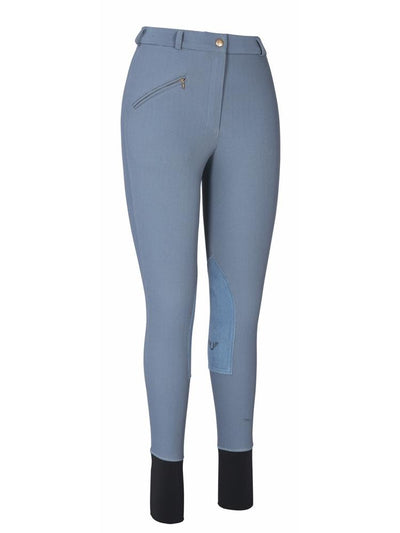 TuffRider Ladies Ribb Knee Patch Breeches (Long)_7