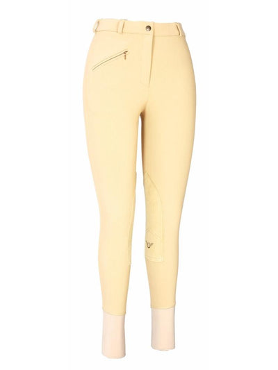 TuffRider Ladies Ribb Knee Patch Breeches (Long)_15