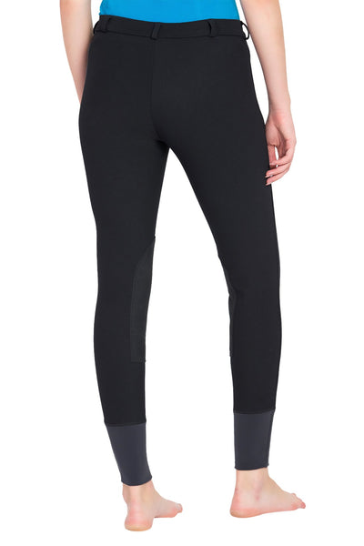 TuffRider Ladies Ribb Knee Patch Breeches (Long)_14