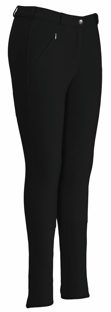 TuffRider Ladies Light Cotton Lowrise Knee Patch Breeches_3