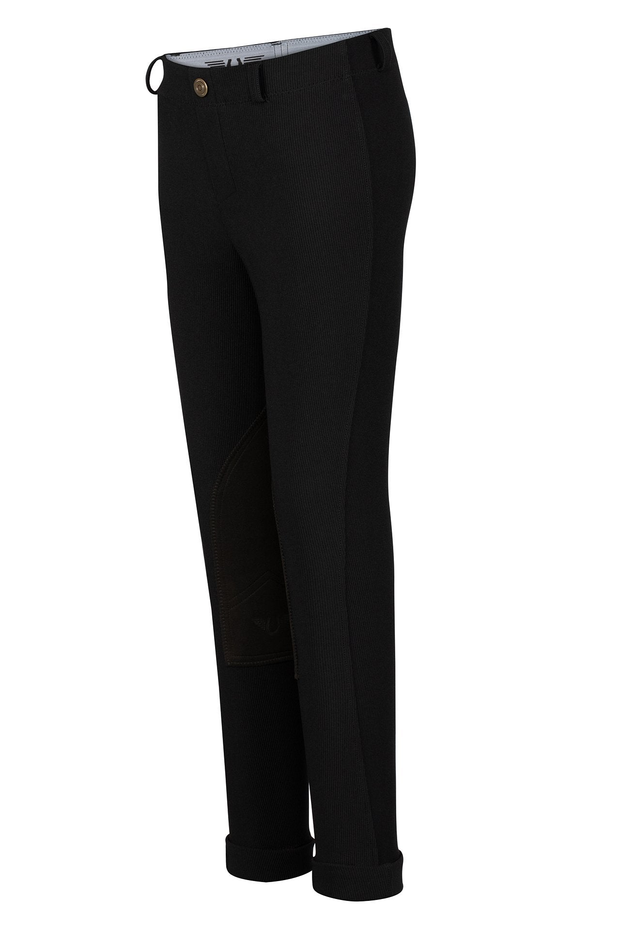Children's Ribb Lowrise Pull-On Jodhpurs - TuffRider - Breeches.com