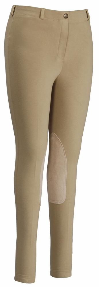 TuffRider Ladies Cotton Pull-On Gripper Breeches_2